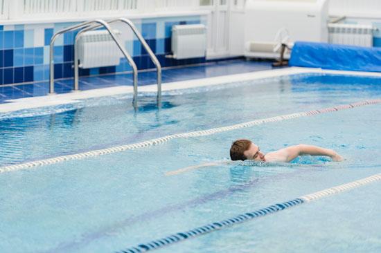 Unidad Impulso aqua rehabilitación en piscina Murcia